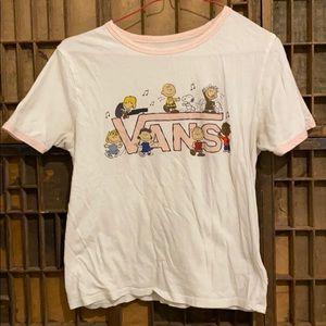 Vans X Peanuts mid-length T-shirt
